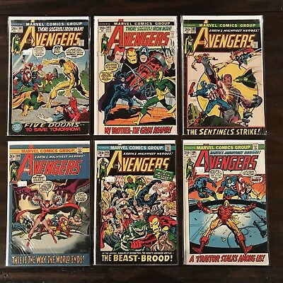 Avengers 101-150 Complete Lot Run Set! 50 Total Issues! (C 1 4 57) Black Panther