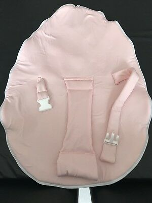 Chibebe Snuggle Pod Baby Bean Bag with Pink Baby Seat and Yellow Toddler Seat