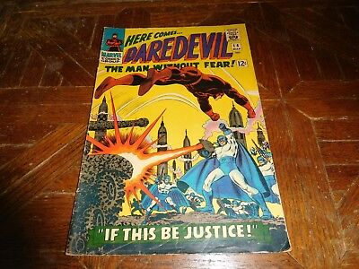 Daredevil #14 (Mar 1966, Marvel) If This Be Justice