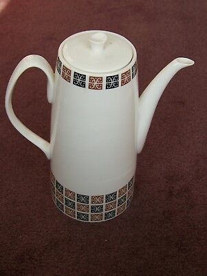 Vintage Coffee Pot 'Aida' by Queen Anne Bone China