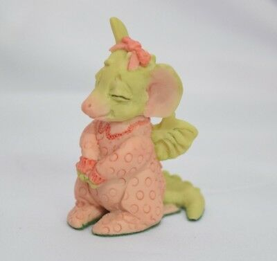1989 Whimsical World of Pocket Dragons by Real Musgrave ~ Pretty 'n Pink