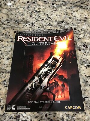 Resident Evil Outbreak Bradys Strategy Guide PlayStation 2 Ps2