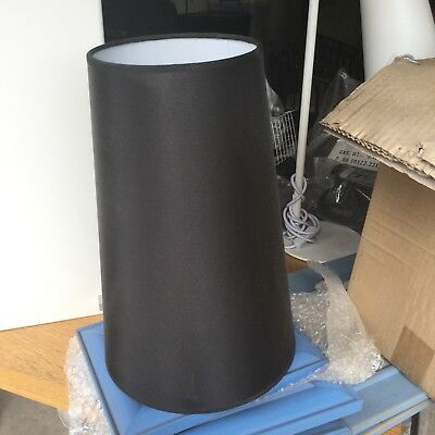 Black lampshades with no base There Is over 15 in the box
