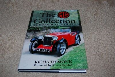 The MG Collection Vol. 1 : Pre-War Models by Richard Monk (1994, Hardcover)
