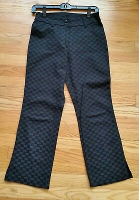 Star CCC clothing women`s vintage crop pants Size 5 skinny black  mid rise