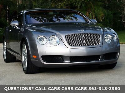 2005 Bentley Continental GT ONLY 25K MILES-FREE AUTOCHECK-LIKE 06 07 08 09 FLORIDA CLEAN-SUPER LOW 25k MILES-REAR CONSOLE-ABSOLUTELY THE BEST VALUE ON EBAY