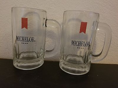 Michelob Beer Glass Beer Mugs Set of 2