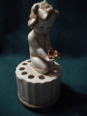 Really Pretty Vintage Hat Pin Holder Made In U.s.zone Germany