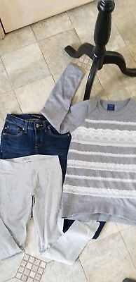 Girls clothing lot 6 pieces  Winter to Spring!  size 10-12
