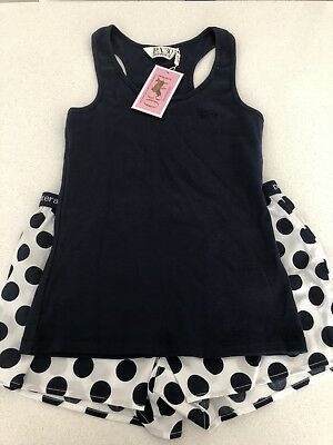 Peter Alexander M Short & Tank Navy Brand New
