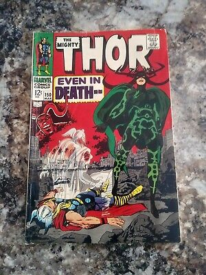 The Mighty Thor Comic Book #150, Marvel 1968, 1st Hela Cover KEY ISSUE