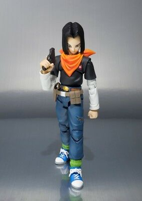 S.H. Figuarts Dragonball Z Android 17 Figure (NEW never opened) Tamashii Bandai