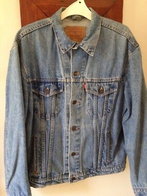 Levi's Denim Jacket,Retro,80's,suit size 14-16