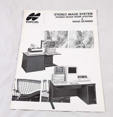 Topcon Stereo Image System Brochure 1991.