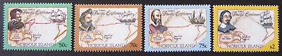 1994 Norfolk Island Stamps - Early Pacific Explorers Pt I - Set of 4 MNH