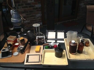 Vintage Photography Equipment including Opemus enlarger