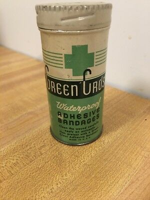 Vintage Green Cross Adhesive Bandages 1920s-1930s