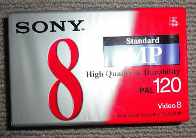 Sony 8mm/Video 8  :  P5-120MP1  :  120 min [Camcorder Cassette]