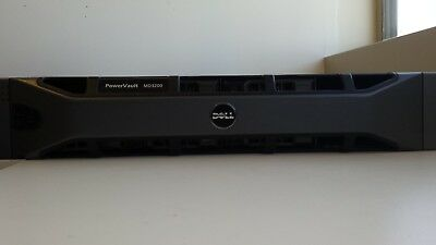 Dell PowerVault MD3200 with 3x1tb and 2x500gb SAS drives.