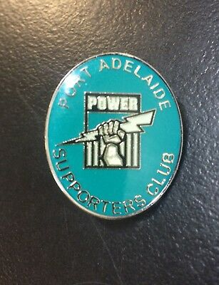 Port Adelaide Football Club Power Supporters Club Badge Pin