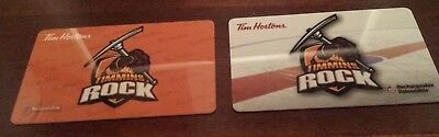 Tim Hortons Gift Card Timcard Timmins Rock 2016 +2017