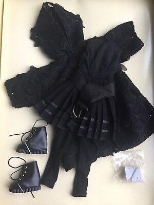 """Tonner Wilde Imagination 16""""  Ellowyne BACK ON BLACK LE Doll Clothes Outfit NRFB"""