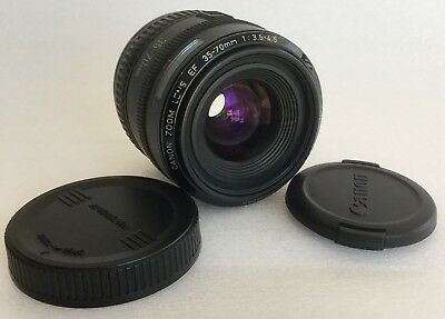 CANON ZOOM Lens EF 35-70mm 1:3.5-4.5 Made in Japan. Very Good Condition.