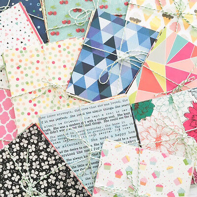 Patterned Paper Mixed Bulk Lot 6 x 6 Inch, 115 Sheets Scrapbooking, Cards, Craft