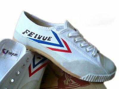 White Top One Feiyue Martial arts / Kung Fu shoes. FREE UK Postage