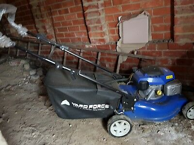 yardforce lawn mower self propelled warranty remaining