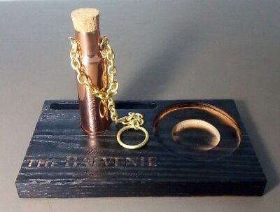 Balvenie Scotch Copper Dipping Dog With Chain & Cork & Display Board (No Bottle)