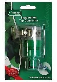 Snap Action Rubber Tap connector. Male Adaptor