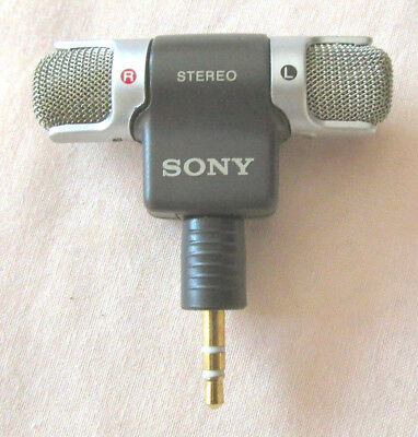 Microphone Sony Stereo ECM-DS70P  MADE IN jAPAN