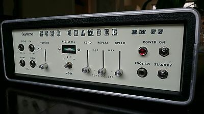 GUYATONE JAPAN ECHO CHAMBER - ANALOG TAPE DELAY - GUITAR EFFECT - pedal roland