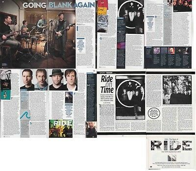 RIDE : CUTTINGS COLLECTION -interviews-