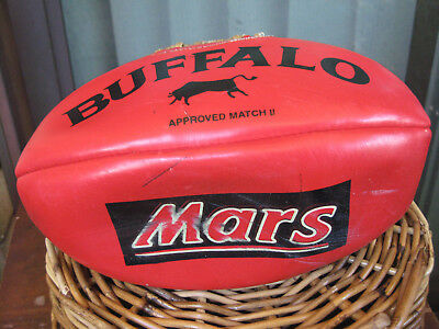 Red Mars Buffalo Rugby Balls