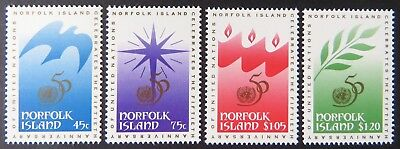 1995 Norfolk Island Stamps - Christmas - Set of 4 MNH
