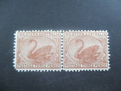 Western Australia Stamps: 3d Brown Sean  Mint   (a33)