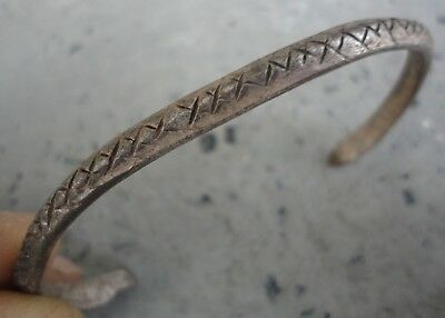 Ancient VIKING SILVER Bracelet lovely spectacular Museum quality fine artifact