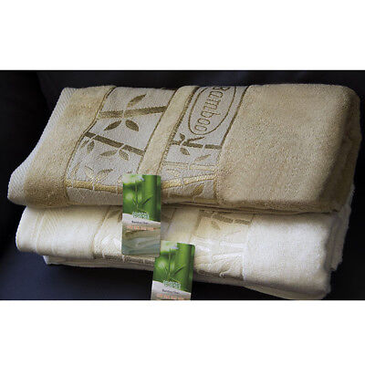 Kids Bamboo Bath Towel Baby Children Absorbent Super Soft Antibacterial Hotel