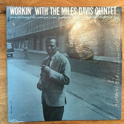 Workin' With Miles Davis Quintet, Prestige 7166; RVG US