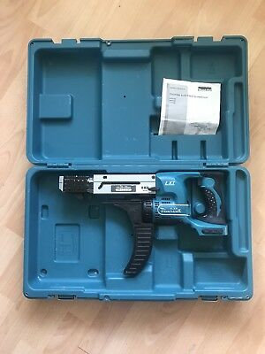 Makita BFR55018v LXT Auto feed Screwdriver (bare - no batteries or charger)