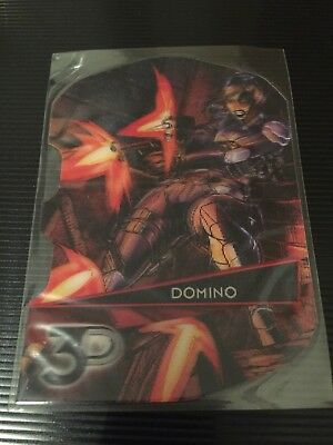 Domino Marvel 3D 2015 Upper deck Card 66-3D