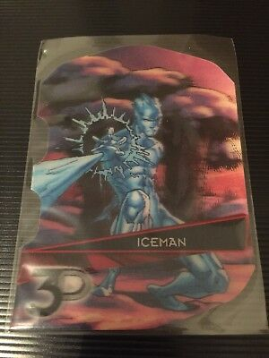 Iceman Marvel 3D 2015 Upper deck Card 68-3D