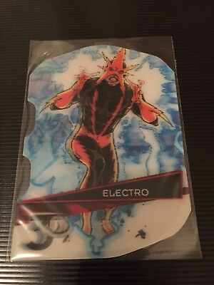Electro Marvel 3D 2015 Upper deck Card 60-3D