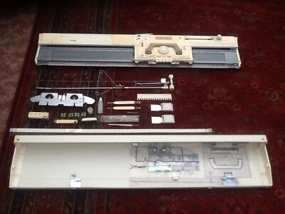 Brother Kh-836 Knitting Machine/pattern Making Machine Plus Accessories. Used.