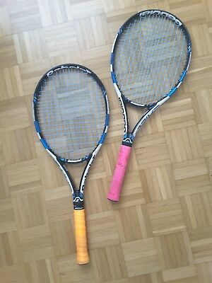 2x Babolat Pure Drive Team + Tasche