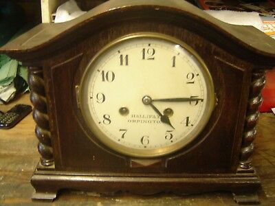 antique halifax orpington clock