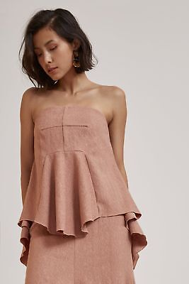 NEW Women's Bustiers I Dream It Bustier Biscuit By C/Meo Collective