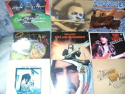 26 LPs Uriah Heep Zappa Young Thin Lizzy Spooky Tooth